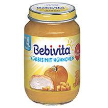 Bebivita Бебешко пюре тиква с пилешко месо 190 гр.
